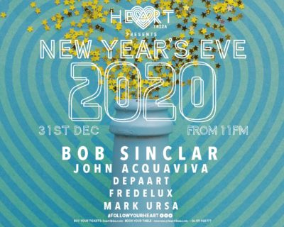 Heart Ibiza presents New Year's EVE