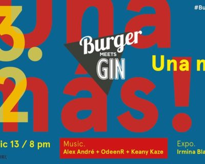 Burger Meets Gin with Ibiza Room