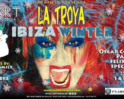 La Troya at Heart Ibiza.  Winter Edition