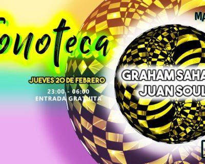 Fonoteca with Graham Sahara & Juan Soul