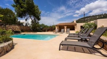 Cala Vadella Villa Sleeps 8 Pool Air Con